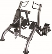Presse de musculation Rowing horizontal en acier - Charge max : 200 Kg - Norme européenne EN957