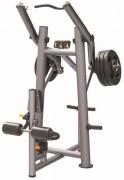 Presse de musculation Rowing vertical - Charge max : 200 Kg - Dimensions L x l x H : 1226 x 1120 x 1860 mm