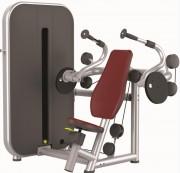 Presse de musculation triceps - Charge max : 78 Kg  -  Norme européenne EN957