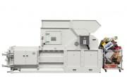 Presse horizontale pour carton - Pression de compactage : 400 kN