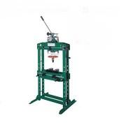 Presse hydraulique d'atelier manuelle pour garages - Force 15 - 20 et 35 tonnes