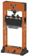 Presse hydraulique d'établi - Entraînement : manuel / pneumatique