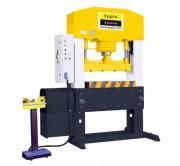 Presse hydraulique double colonne - Pression de coupe : 100 ou 150 T