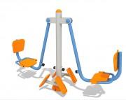 Presse jambe extérieur - Dimensions : 1,9 m x 0,6 m – Poids : 75kg