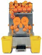 Presse orange automatique 20 à 25 oranges par minute - Production : 20 à 25 oranges/minute.