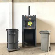 Presse poubelle et sac - Pour poubelles de 240 à 1100 L