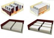 Prestation de stockage sur-mesure - Stockage sur rayonnage pour bureau et salle d'archives