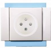 Prise de courant fort - S'adapte au boitier standard type batibox