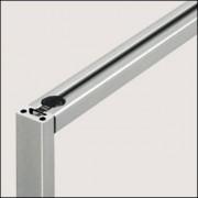 Profilé aluminium 5 20x10 - Profilé naturel