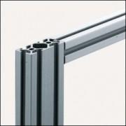 Profilé aluminium 5 40x20 - Matériaux Al, anodisé