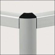 Profilé aluminium 5 R20/40-60° - Profilé naturel