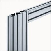 Profilé aluminium 6 120x30 - Profilé aluminium naturel
