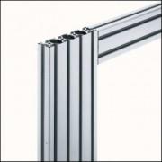 Profilé aluminium 6 120x30 léger naturel