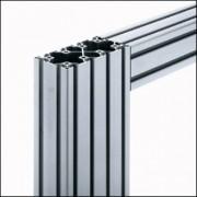 Profilé aluminium 6 120x60 léger naturel