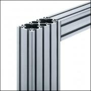 Profilé aluminium 6 120x60 naturel - Profilé aluminium