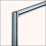 Profilé aluminium 6 30x30 naturel - Profilé aluminium naturel