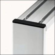 Profilé aluminium 6 60x12 léger naturel