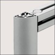 Profilé aluminium 6 R30-90° léger naturel - Profilé aluminium 6 R30