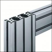 Profilé aluminium 8 120x40 léger naturel - Aluminium 8 120x40