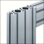 Profilé aluminium 8 120x40 naturel - Profilé 8 120x40 naturel