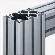 Profilé aluminium 8 120x80 léger naturel - Profilé léger naturel