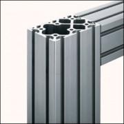 Profilé aluminium 8 120x80 naturel - Profilé 8 120x80