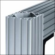 Profilé aluminium 8 160x160 naturel - Profilé  8 160x160