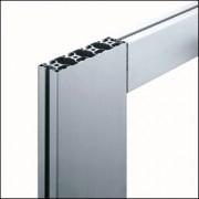 Profilé aluminium 8 160x40 4N léger naturel