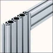 Profilé aluminium 8 160x40 naturel - Profilé  8 160x40 naturel