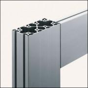 Profilé aluminium 8 160x80 4N léger naturel - Profilé 4N léger naturel