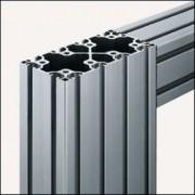 Profilé aluminium 8 160x80 léger naturel - Profilé aluminium