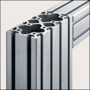 Profilé aluminium 8 160x80 naturel - Profilé  8 160x80 naturel