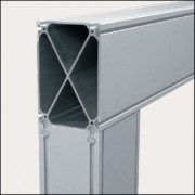 Profilé aluminium 8 240x160 8EN - Profilé  8EN naturel