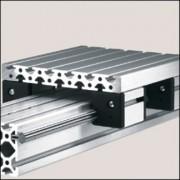 Profilé aluminium 8 240x28 naturel - Profilé 8 240x28