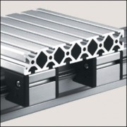 Profilé aluminium 8 240x40 naturel - Profilé 8 240x40