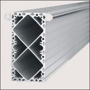 Profilé aluminium 8 320x160 naturel - Profilé aluminium