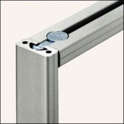 Profilé aluminium 8 40x16 naturel - Profilé aluminium