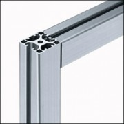 Profilé aluminium 8 40x40 2N180 naturel - Profilé aluminium