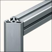 Profilé aluminium 8 40x40-45° naturel - Profilé naturel