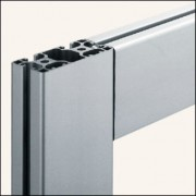 Profilé aluminium 8 80x40 3N90 E naturel - Profilé aluminium