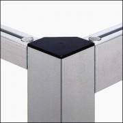 Profilé aluminium 8 80x80-45° 4N90 - Profilé 4N90 léger naturel