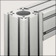 Profilé aluminium 8 80x80 D40 naturel - Profilé aluminium D40 naturel