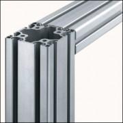 Profilé aluminium 8 80x80 léger naturel - Profilé aluminium 8 80x80