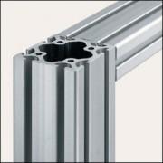 Profilé aluminium 8 80x80 naturel - Profilé 8 80x80 naturel