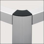 Profilé aluminium 8 R40/80-60° naturel - Profilé 8 R40/80-60°