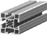 Profilé aluminium de construction - Dimensions (Lxh) mm : de 45x45 à 45x90