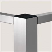 Profilé aluminium naturel - Profilé  6 60x60 4N90 léger