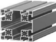 Profilé aluminium pour salle blanche - Dimensions (Lxh) mm : de 80 x 80 à 80 x 160