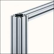 Profilé aluminium propriété naturel - Profilé 6 60x60 naturel