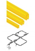 Profilé creux acier manutention - Capacité de charge : 60 kg à 2000 kg